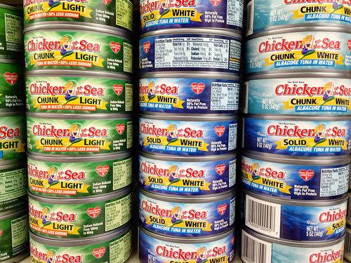 canned tuna photo