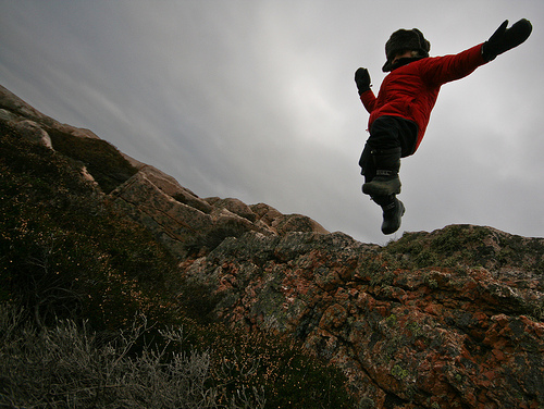 kid jump photo