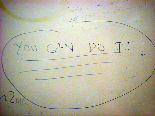 you can do it photo