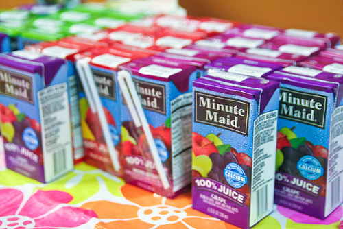 juice boxes photo