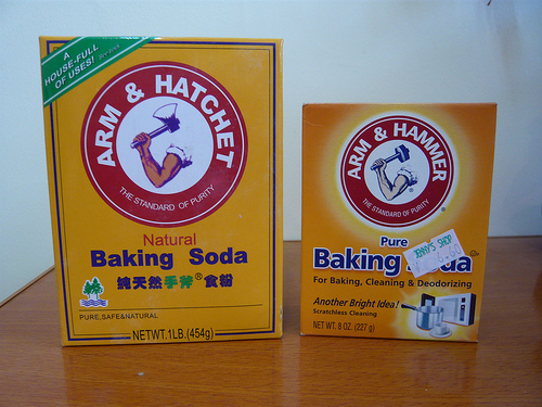 baking soda photo
