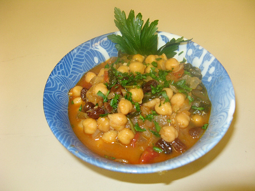 Chickpea Stew orzo photo