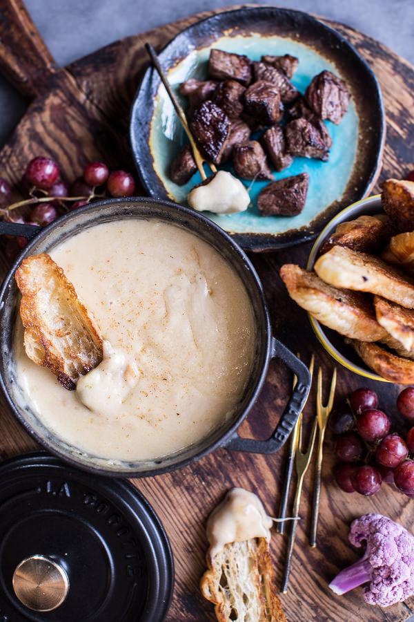 how to make simple cheese fondue