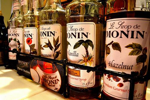 coffee syrup photo