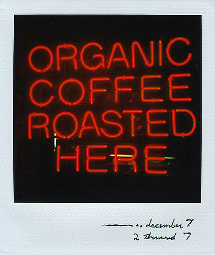 organic coffee photo