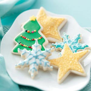 Christmas cookie shapes recipes