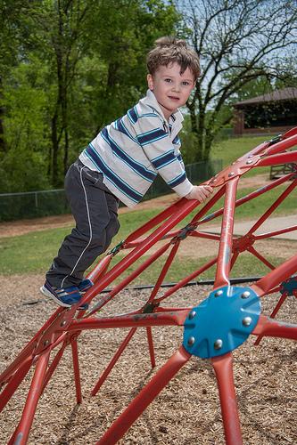 climbing playground photo