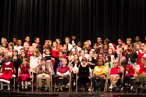 holiday concert photo