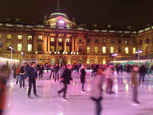 ice skating photo