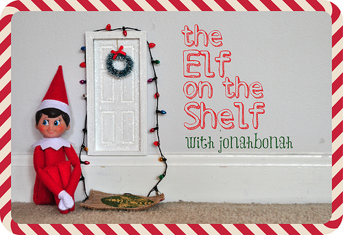 Worry no longer! A sweet friend of mine, Jill, emailed me this AWESOME list today of things to do with your Elf on the Shelf! (Please leave a comment with more ideas if you have them!) UPDATE: I did a post today with 15 more Elf on the Shelf Ideas! (My fav is the Elf hanging from a helium balloon, bobbing around the house hanging on it!) 1.