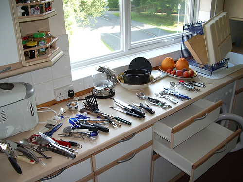 clean kitchen photo