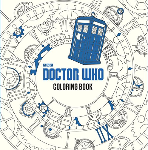 96 Pages Of The Best Doctor Who Scenes Cast Members And Quotes Coloring Book 936