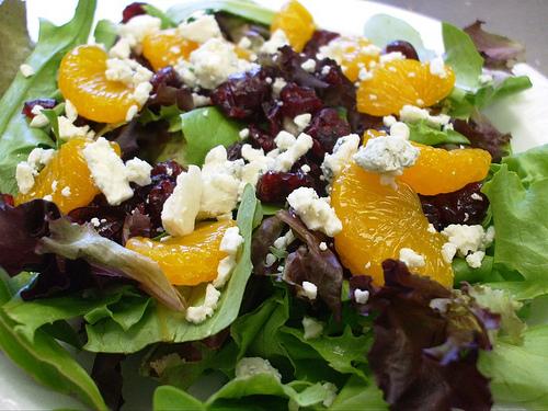orange salad photo