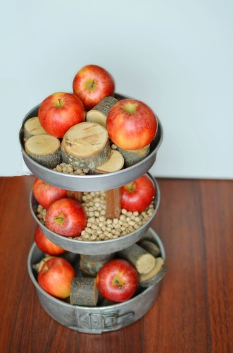 cake pan tiered display fruit wood amy renea a nest for all seasons 2