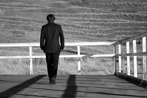walking away photo