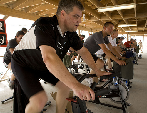 spin class photo