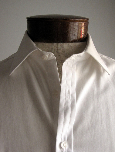 white shirt photo
