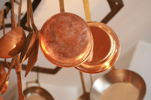 copper pot photo