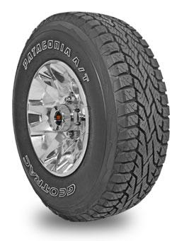 geo trac patagonia a/t tires at simpletire.com