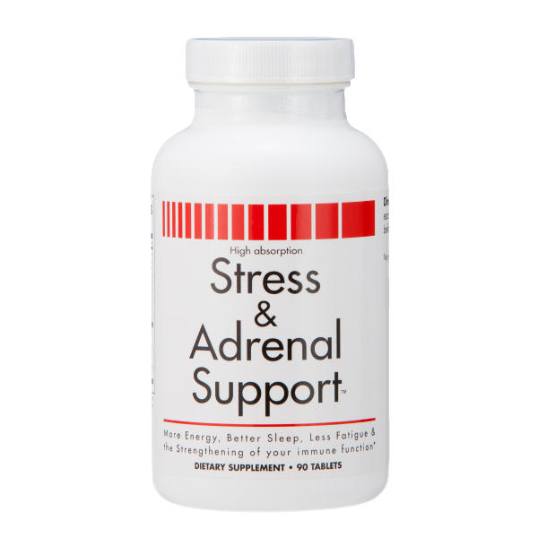 Stress and Adrenal Support – 90 Chewable Tablets