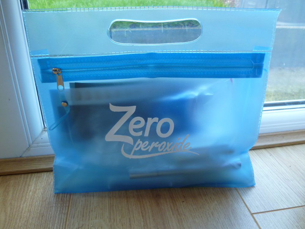 Zero peroxide with carrying case
