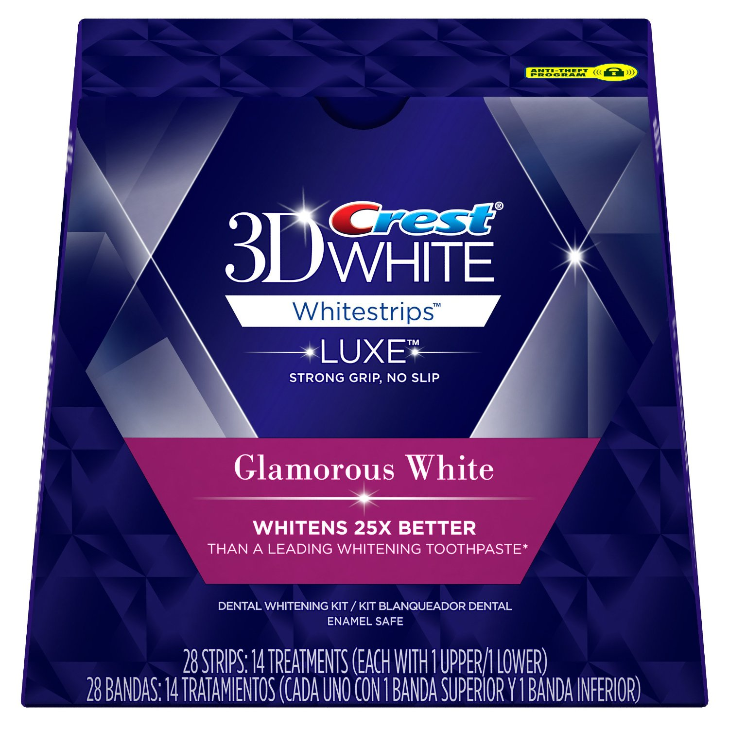 Crest 3D white teeth whitening strips