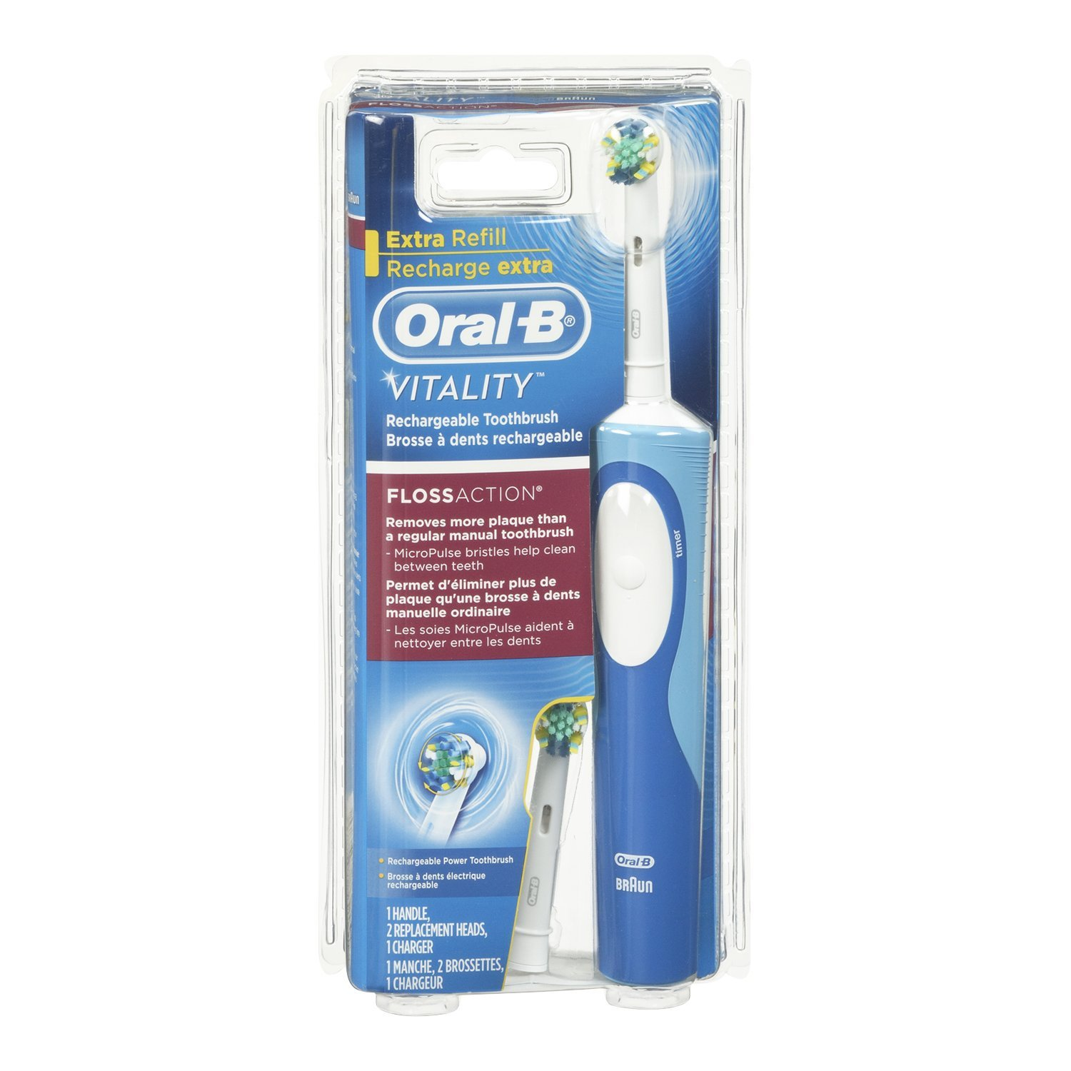 Oral b vitality electric toothbrush