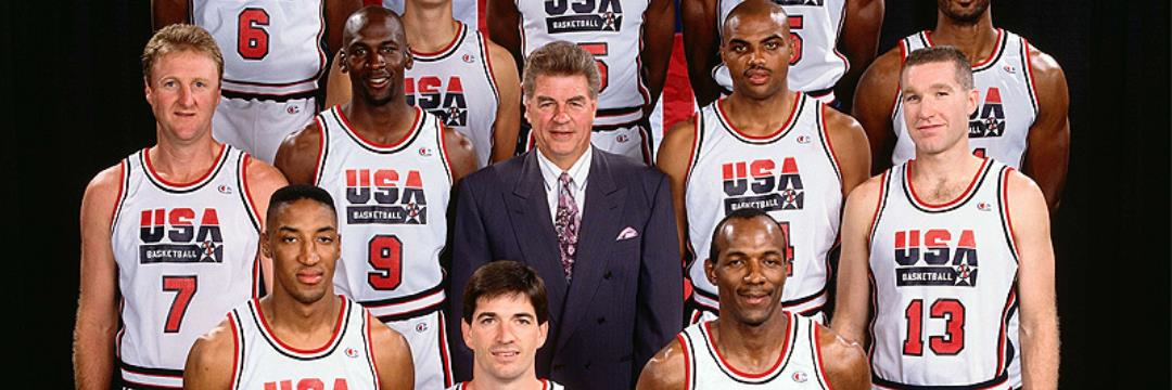 Any Time the Dream Team Was on a Fast Break (1992)