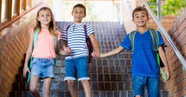 A partir do 2º ano um aluno da escola pode ser eleito para integrar o aluno novo à rotina