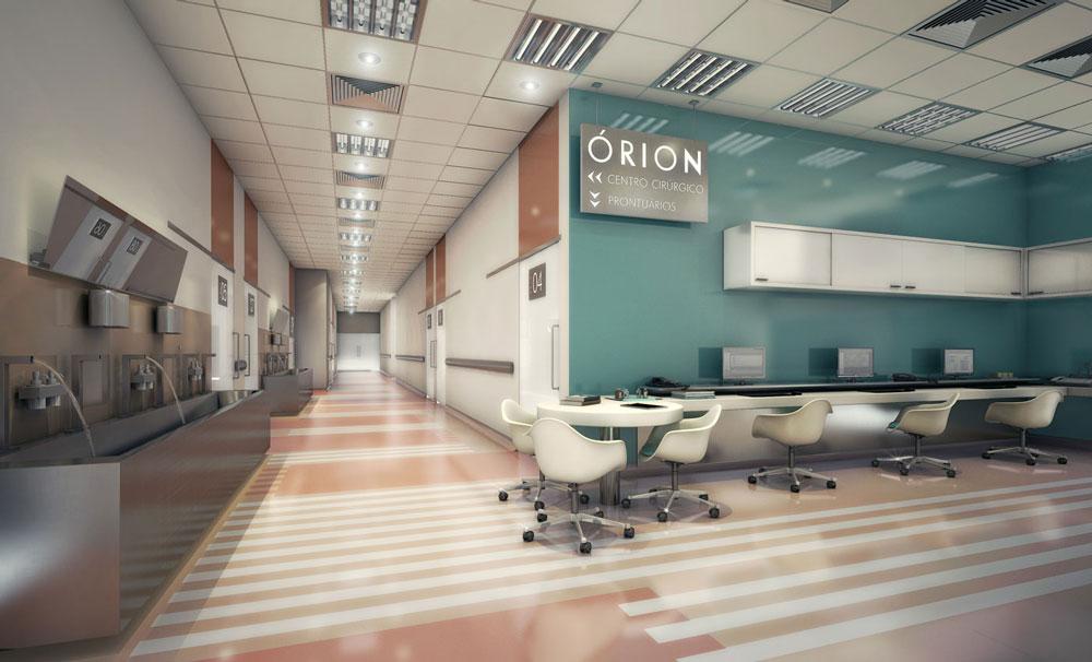 04 corredor centro cirurgico