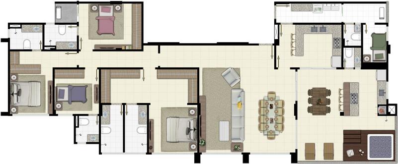 Plt 08   planta humanizada penthouse