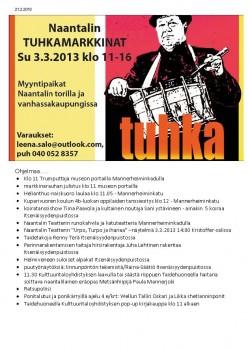 Tuhkamarkkinoidenohjelmaa2013.jpg