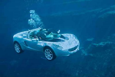 Underwater Amphibious Car