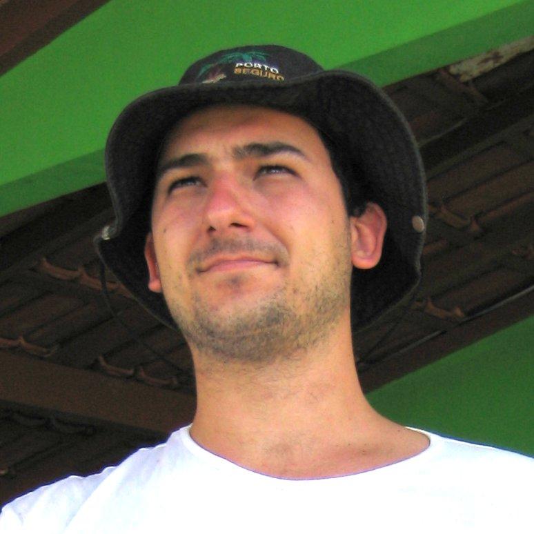 Eu de chapéu