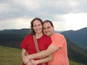 Rodrigo e Sabrina em Santa Teresa