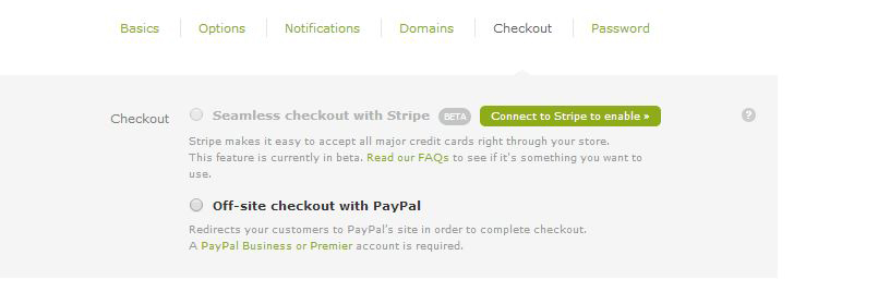 Your payment options come down to two choices.