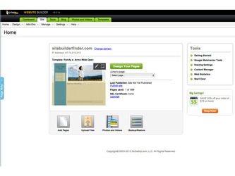 GoDaddy Screenshot 2