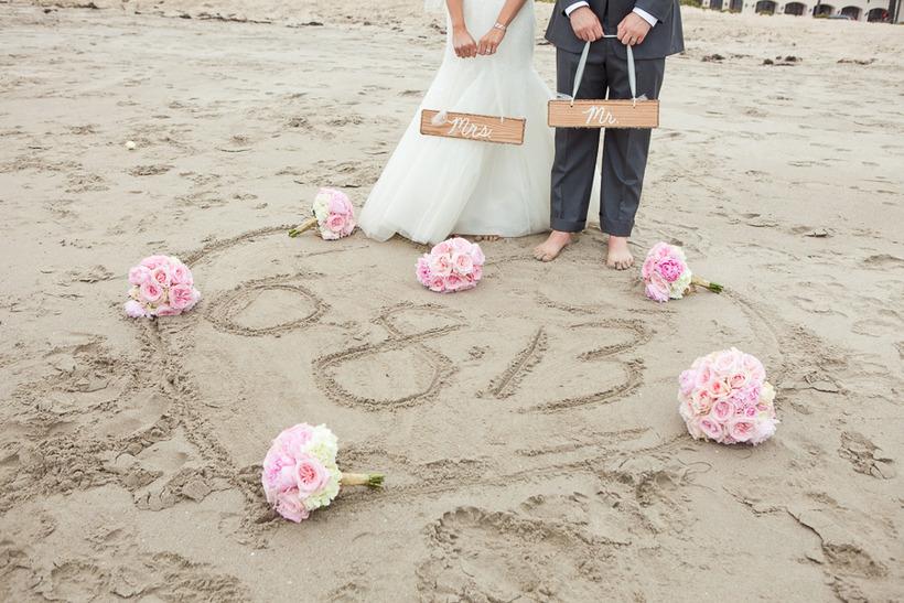 beach fess parker wedding santa barbara coordinators newlyweds