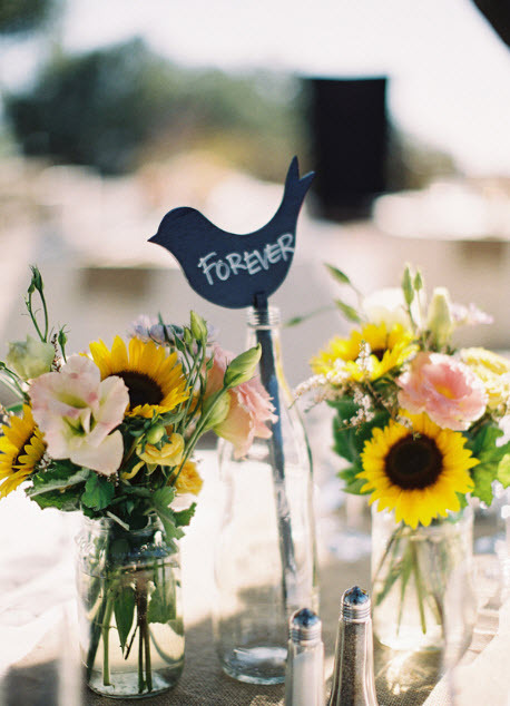 outdoor chic lovebird table numbers