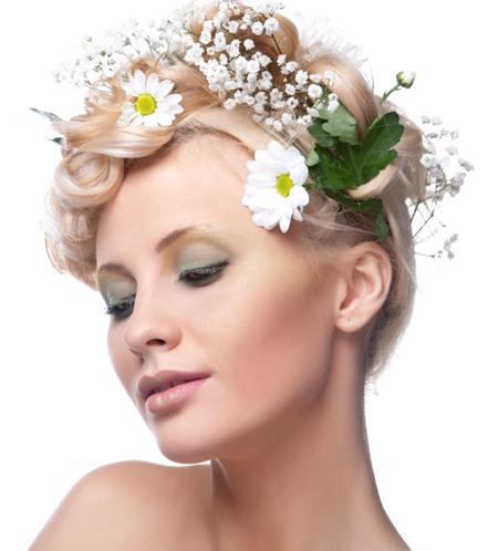 Wedding Hair Styles by Eliane Alexandre, Santa Barbara, California