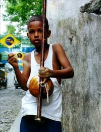 Boy with Berimbau 
