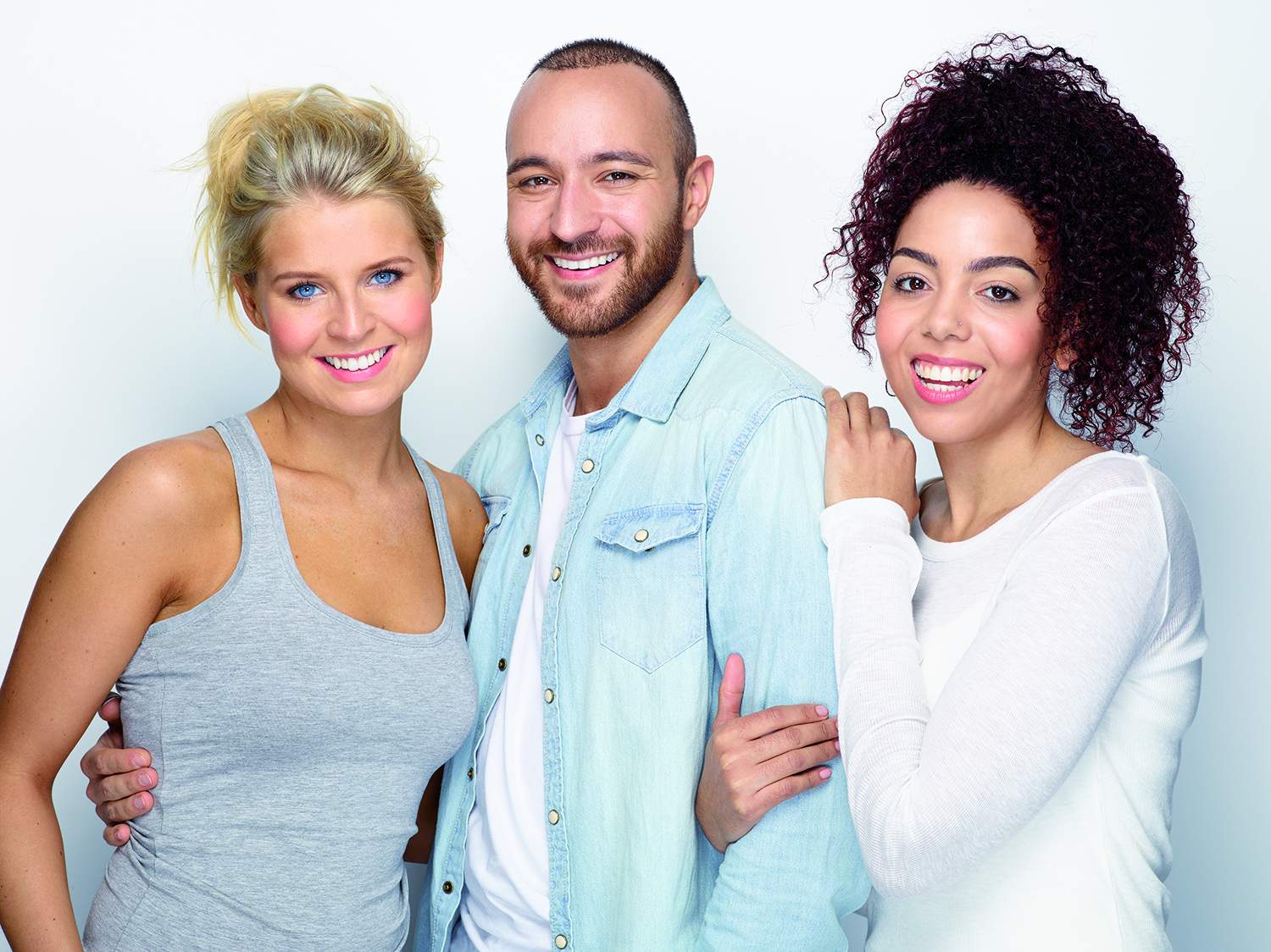 Group of Adults with Invisalign