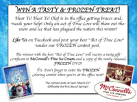 Win a Tasty and Frozen Treat!