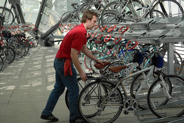 Bikestation DC Interior