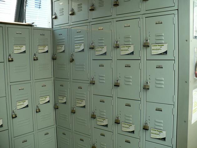 Bikestation DC lockers