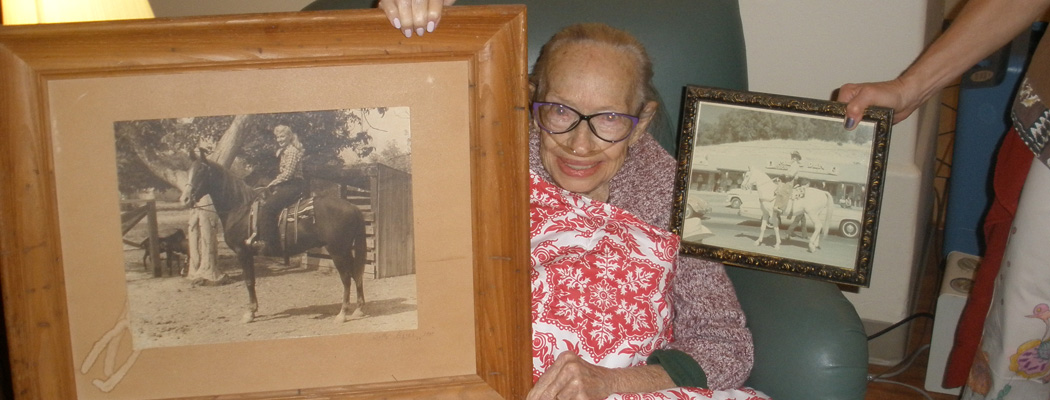 Grandma with Pictures