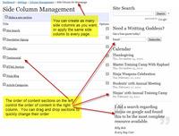 Side Column Management