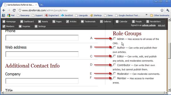 Roles & Permissions 1a