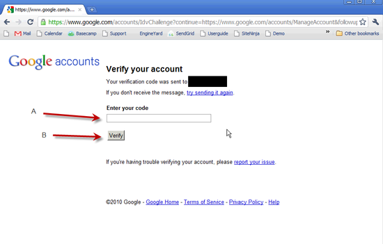 Create Google Account - 4