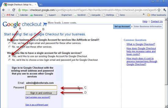 Google Merchant & Checkout - 4